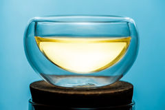 A glass of tea. The chinese glass of tea for  teaism Stock Image