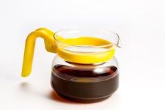 Glass Tea or Coffee Pot Royalty Free Stock Photos