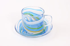 Glass tea cup Royalty Free Stock Photo