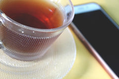A glass of tea Royalty Free Stock Photo