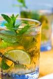 Glass of tea Stock Photos
