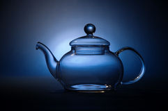 Glass tea pot Royalty Free Stock Image