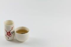 Glass tea set. Stock Photo