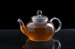 Glass teapot Royalty Free Stock Photo