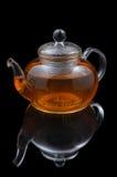 Glass teapot Stock Photos