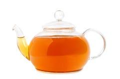 Glass teapot Royalty Free Stock Image