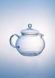 Glass teapot Stock Image