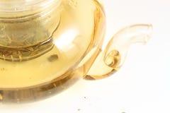 Glass Teapot Stock Photography