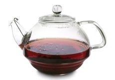 glass teapot Fotografering för Bildbyråer