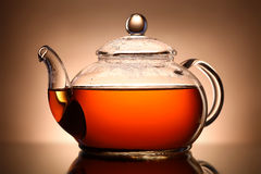 Glass teapot Royalty Free Stock Photos