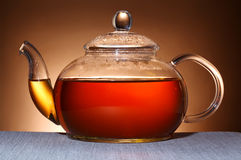 Glass teapot Royalty Free Stock Photography