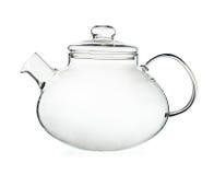 Glass teapot Stock Images