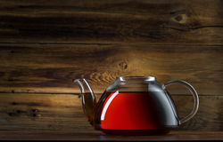 Glass teapot Royalty Free Stock Photos