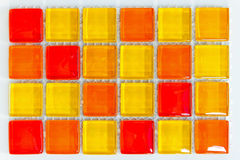 glass tegelplattor Arkivbilder