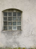 Glass tegelstenfönster Royaltyfri Bild