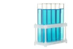 Glass test-tubes Royalty Free Stock Photos