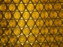 Glass texture. Is looking like gold Royalty Free Stock Image