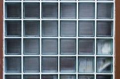 glass texturfönster för block Arkivfoto