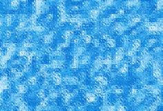 Glass Tile. Mosaic design of shiny glass tile Stock Photography