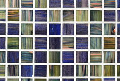 Glass tile background Royalty Free Stock Image