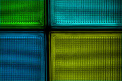 Glass_tile_colors Stockfotografie