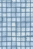 Glass tile wall Royalty Free Stock Photography