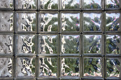 Glass tile wall background Royalty Free Stock Image