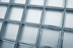 Glass tiled wall Royalty Free Stock Photo