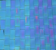 Blu Green Glass Tiles Stock Photos