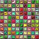 Glass tiles Stock Photography