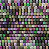 Glass tiles seamless generated hires texture Royalty Free Stock Image