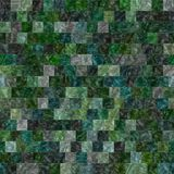 Glass tiles seamless generated hires texture Stock Images