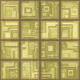 Glass tiles seamless generated texture Stock Image