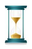 glass timme royaltyfri illustrationer