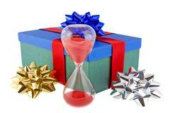glass timmepresent för jul Arkivfoton
