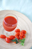 Glass of Tomato Juice Royalty Free Stock Image
