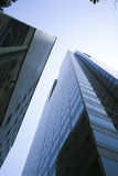 Glass tower. Architecture in Downtown Los Angeles, California Stock Photography