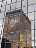 Glass tower reflection Stock Photography