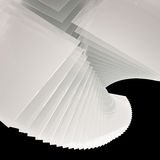 Glass Tower twist background Stock Images