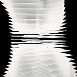Glass Tower twist background Stock Image