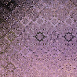 Glass traditional thai style texture decorated Royalty Free Stock Image
