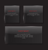 Glass Transparency Frame Vector Illustration Royalty Free Stock Photos