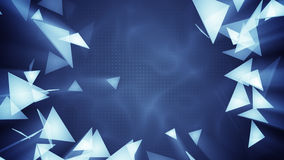 Glass triangles. Abstract 3d render. Glass triangles. Computer generated abstract 3d render background Vector Illustration