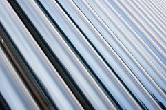 Glass tube series. Full of pictures of the glass tube Stock Images