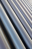 Glass tube series. Full of pictures of perspective glass tube vertical composition Stock Images