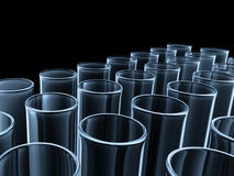 Glass Tubes Royalty Free Stock Photos