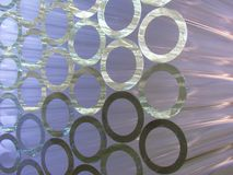 Glass tubes Stock Image