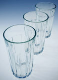 Glass tumblers Stock Photography