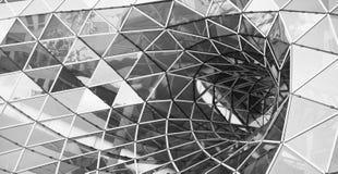Glass tunnel i Frankfurt Royaltyfria Bilder