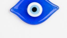 Glass Turkish eye Stock Photography